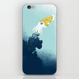 Intelligent Inker - Cranky Cuttlefish iPhone Skin