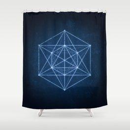 Sacred geometry / Minimal Hipster Symbol Art Shower Curtain