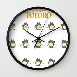 My Neighbor To toro Wall Clock