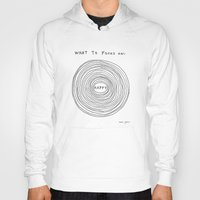 positive Hoodies featuring What to focus on by Marc Johns