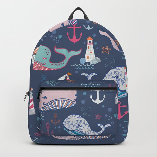 Whale Toss Backpack