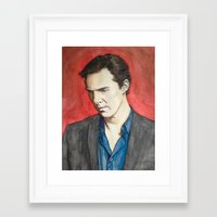benedict Framed Art Prints featuring Benedict by IamDeirdre