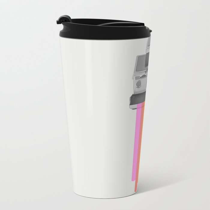 Taste the Rainbow Metal Travel Mug
