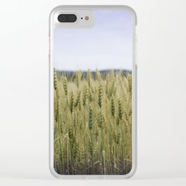 Grain Almost Ready For Harvest Clear iPhone Case