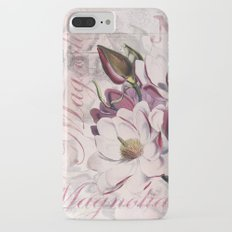 Vintage Magnolia iPhone 7 Plus Slim Case