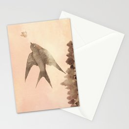 Sunset Swallow Stationery Cards