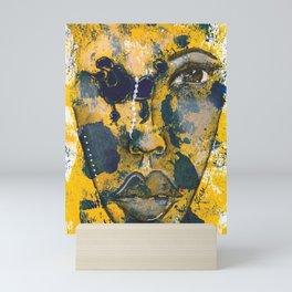 Come Thru Royal Mini Art Print