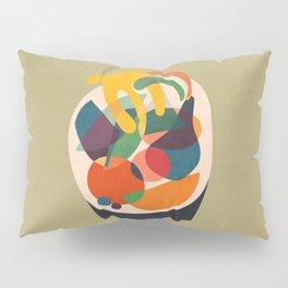 Fruits in wooden bowl Pillow Sham