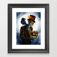 Shadow Man 4 Framed Art Print