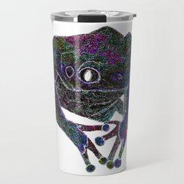 Psychedelic Giant Monkey Frog Travel Mug