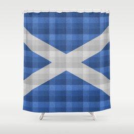 Saltire Duncarron Plaid Shower Curtain