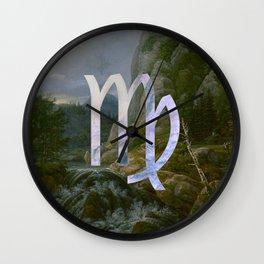 Fine Zodiac / Virgo Wall Clock