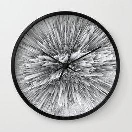 BIG BANG -Abstract Space- Black and White Wall Clock