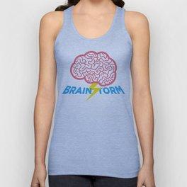 Brain Storm Unisex Tank Top