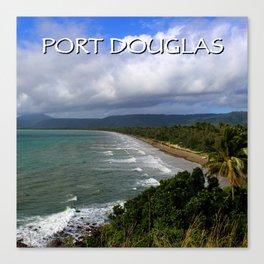 Four Mile Beach, Port Douglas, QLD Australia Canvas Print