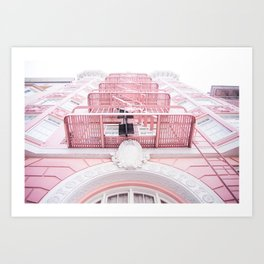 Downtown San Francisco Color Art Print