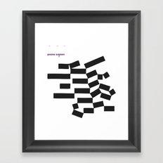 piano signori Framed Art Print