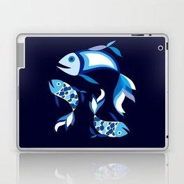 Blue Fish Laptop & iPad Skin