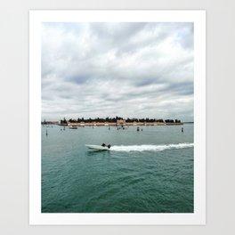 San Michele Island - Venice Art Print