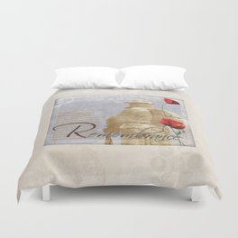 Remembrance Duvet Cover