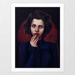 Devil town Art Print