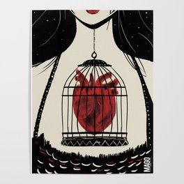 Heart in a cage Poster