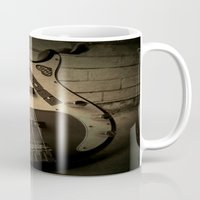 bass Mugs featuring Bass-ic by Andy Burgess