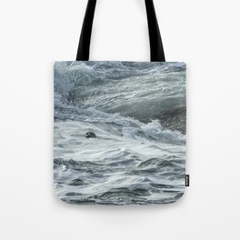 Staying Afloat in a World of Turmoil Tote Bag