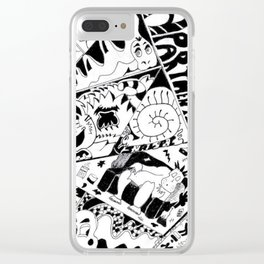 Apartments Clear iPhone Case