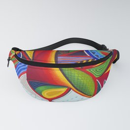 Tiger Abstract Fanny Pack