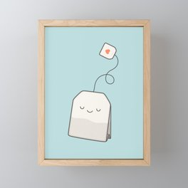 Tea time Framed Mini Art Print