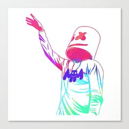 marshmello limited edition Canvas Print