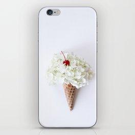 Flower Cone iPhone Skin