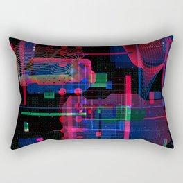 Digital processes Rectangular Pillow
