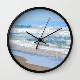 Baby Blue Ocean Wall Clock