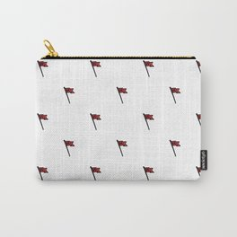 Hamptons New England Vintage Flag Pattern Carry-All Pouch