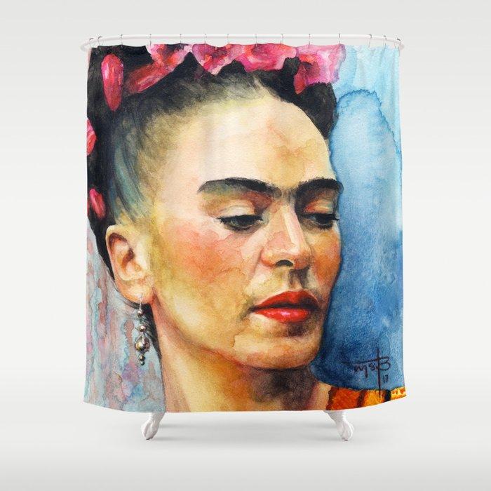 Frida Kahlo Shower Curtain By Mistysegurabowers