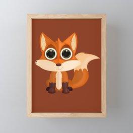 Fox (2) Framed Mini Art Print