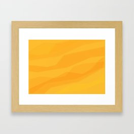 Abstract Stone Pattern Framed Art Print