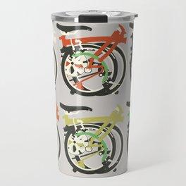 Folded Brompton Bicycle Travel Mug