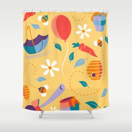 How do You Spell Love? Shower Curtain