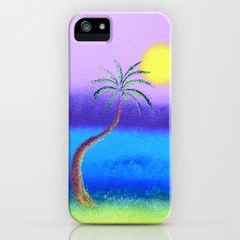 """Belmont's Beach #2"" Original Painting iPhone Case"