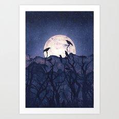 Midnight Chorus Art Print