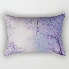 The Trees - Crisp n' Purple Rectangular Pillow