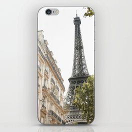 Eiffel tower architecture iPhone Skin