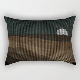 Moonrise (Sepia) Rectangular Pillow