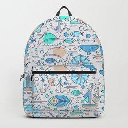 Sea pattern no1 Backpack