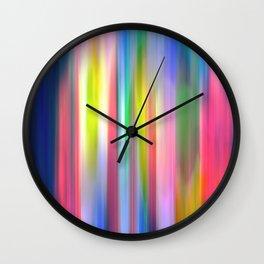 Tulip Blur Wall Clock