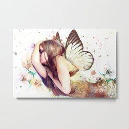 Sleeping Fairy Metal Print