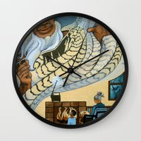 maori Wall Clocks featuring Koro, the Maori Storyteller by Patricia Howitt